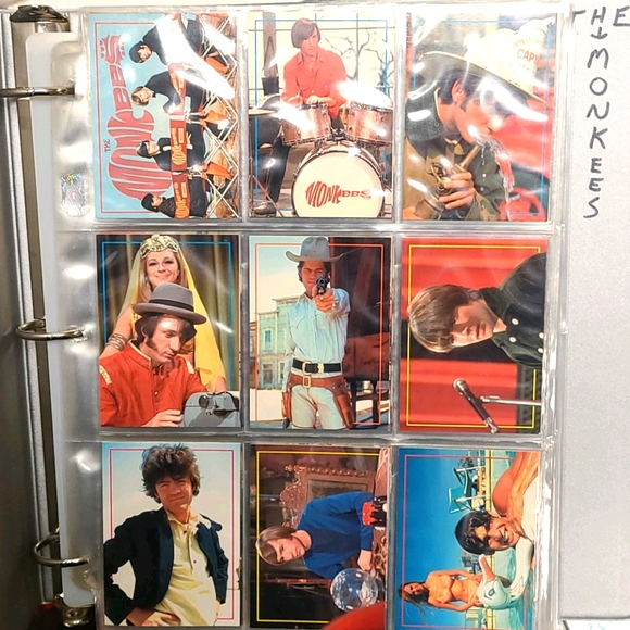 1996 Monkees Trading Cards Complete Set 1-90 Rhino